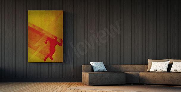 Plakát superhrdina Flash