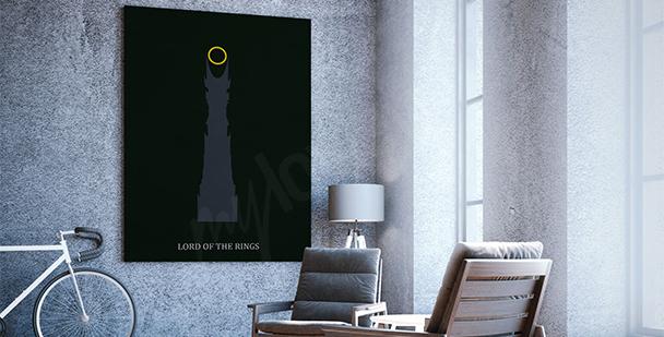Plakát z filmu Pán prstenů