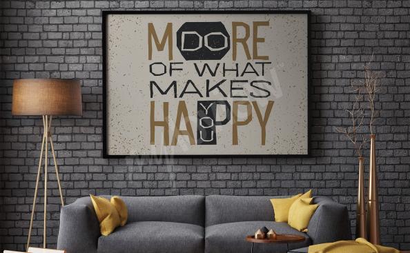 Plakáty s citáty do obývacího pokoje