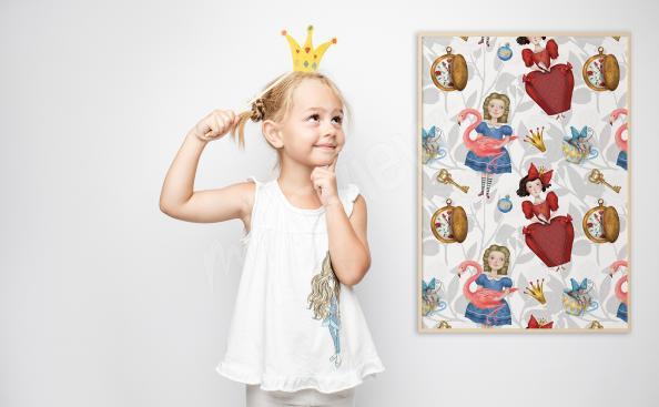 Pohádkový plakát pro dívku