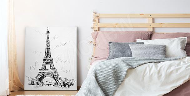 Romantický plakát do ložnice