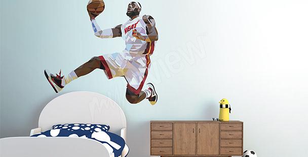 Sportovní nálepka LeBron James