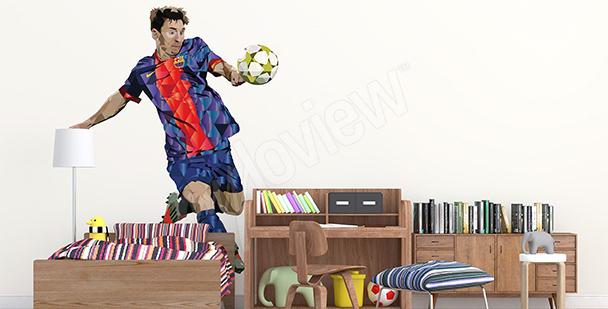 Sportovní nálepka Leo Messi