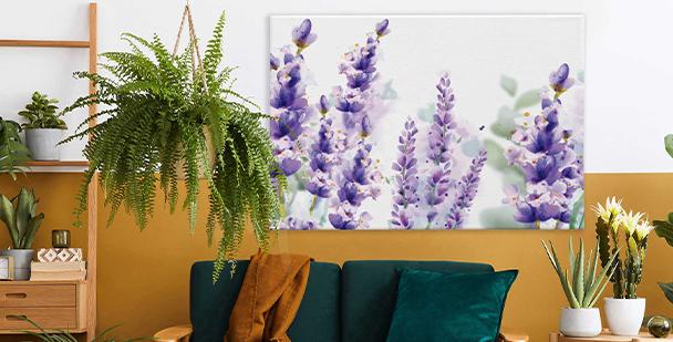 Subtilní obraz ve stylu floral