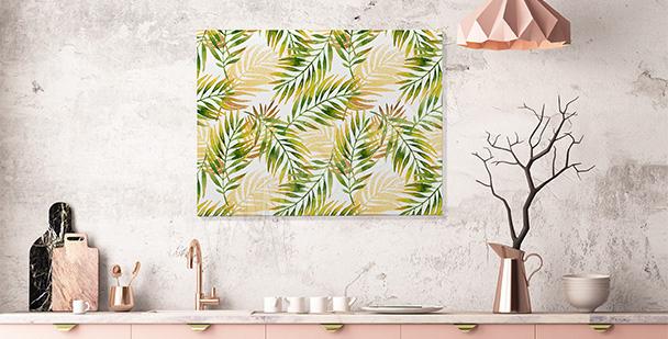 Tropický obraz do kuchyně