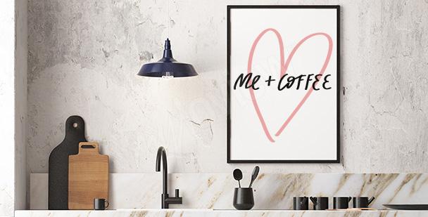 Typografický plakát minimalismus